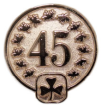 45 pin