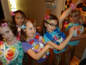 Luau Brownies 2013 060